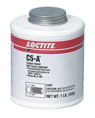 Loctite 51007 C5-A Copper Based Anti-Seize Lubricant, 1 lb Can (1 Can)
