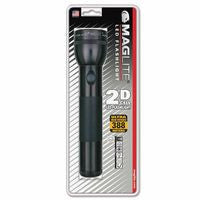 MAG-Lite ST2D016 LED D-Cell Flashlight, 2 D, Black (1 EA)