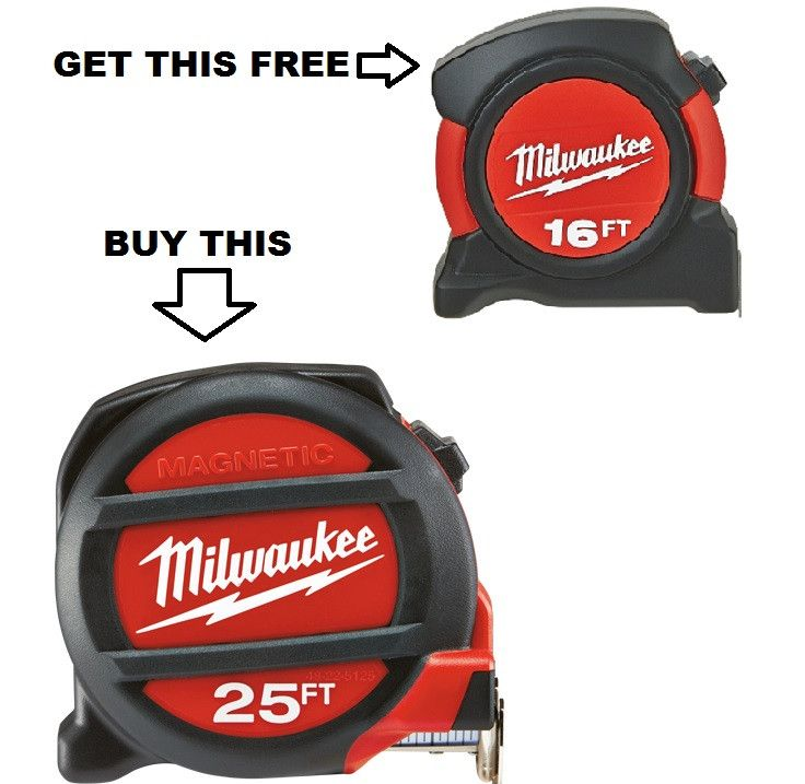 Milwaukee 48-22-5125H 25ft Magnetic Tape Measure