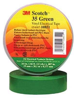 3m-10851-scotch-vinyl-electrical-color-coding-tapes-35,-66-ft-x-3/4-in,-green