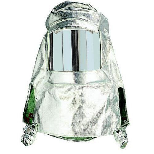 Revco 100AHS 19 oz. Aluminized/Carbon Kevlar® Hood w/ Clear Shield (1 Hood)