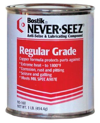 Never-Seez NS-168 Regular Grade Compounds, 8 lb Flat Top Can (1 Can)