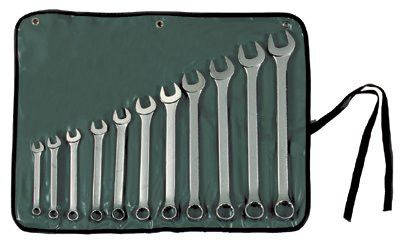 Stanley Tools for The Mechanic 85-450 11 Piece Combination Wrench Sets,  Points, Inch 1 EA