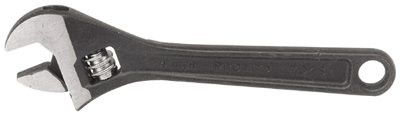 Proto 724S Protoblack Adjustable Wrenches, 24 in Long, 2 7/16 in Opening, Black Oxide (1 EA)