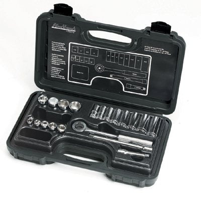 Blackhawk 428-BS 28 Piece Standard Socket Sets, 3/4 in, 12 Point (1 Set)