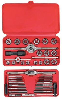 Irwin Hanson 97312 66-pc Metric Tap & Hex Die Set (1 Set)