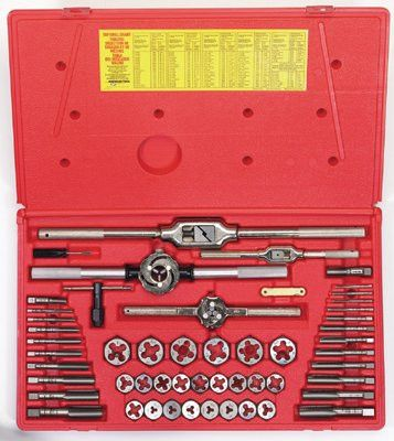 Irwin Hanson 26394 53-pc Metric Tap & Hex Die Set (1 Set)