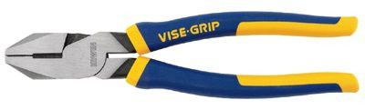 Irwin Vise-Grip 2078209 Linemans Pliers, 9 1/2 in Length (1 EA)