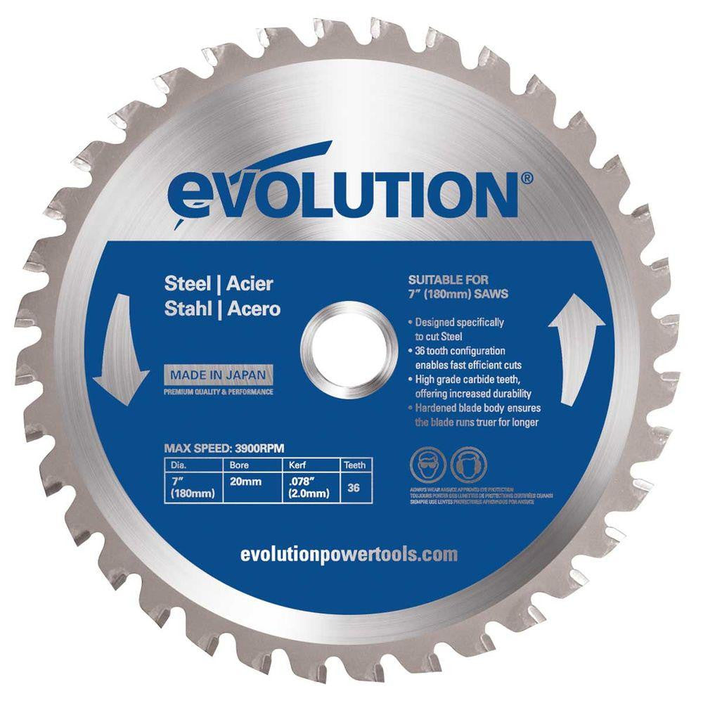 Evolution 6-1/2BLADEST Saw Blade