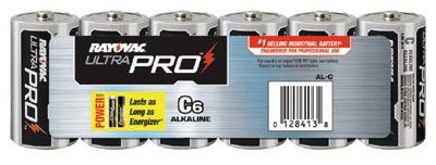 Rayovac ALC-6J Maximum Alkaline Shrink Pack Batteries, 1.5 V, C, 6 per pack (1 Pack)
