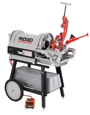 Ridgid 26092 Model 1224 Power Threading Machine, 1/2 in to 4 in (NPT) Pipe Capacity 1 EA