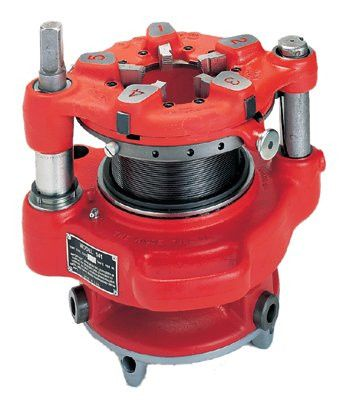 Ridgid 36620 Power Threading/Geared Threader, 2 1/2 in to 4 in (NPT) Pipe Capacity (1 EA)