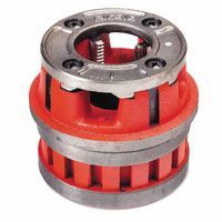 "Ridgid 37400 12R 1"" - 11 1/2 NPT Manual Threading/Pipe and Bolt Die Heads Complete w/Dies 1 EA"