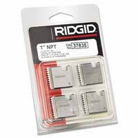Ridgid 37835 Pipe Dies for OO-R, 111-R, 12-R, O-R, 11-R Ratchet Threaders or 30A, 31A 3-Way Pipe Threaders 1 SET