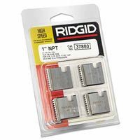 Ridgid 37880 Pipe Dies for OO-R, 111-R, 12-R, O-R, 11-R Ratchet Threaders or 30A, 31A 3-Way Pipe Threaders 1 SET