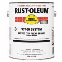 rust-oleum-245479-high-performance-7400-system-dtm-alkyd-enamels,-1-gal,-safety-yellow,-high-gloss