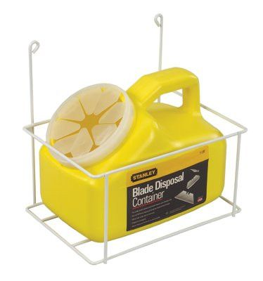 Stanley 11-081 Blade Disposal Containers, 14 in, 1 container 1 KIT