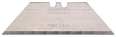Stanley 11-921A 1992 Heavy Duty Utility Blades, 2 7/16 in, High Carbon Steel, 100 per dispenser 1 PAK