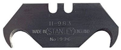 Stanley 11-984 Large Hook Blades, 1 7/8 in, Steel, 100 per box 1 BOX