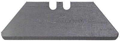 Stanley 11-988 Round Point Utility Blades, 1 7/8 in, Steel, 100 per dispenser 1 PAK