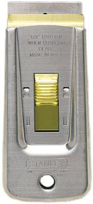 Stanley 28-500 Retractable Razor Blade Scrapers, 1 1/2 in Wide 1 EA