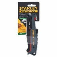 Stanley FMHT10242 FatMax Safety Knives, 3.3 in, Retractable Steel Blade 1 EA