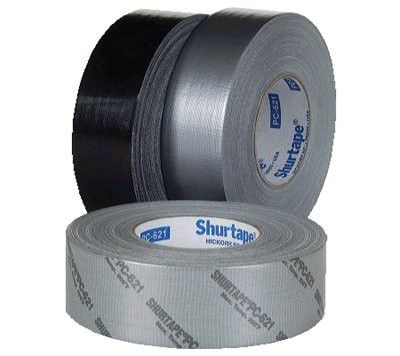 Shurtape 105699 Contractor Grade Duct Tapes, Silver, 2 in x 60 yd x 11.5 mil