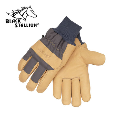 Revco 6LPK Grain Pigskin Impact Nylon MultiBlend™ Insulated Leather Palm Work Gloves (1 Pair)