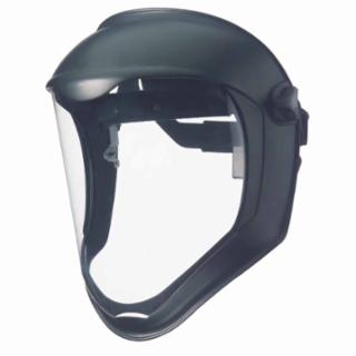 Uvex S8500 Clear/Black Matte Bionic™ Face Shield (1 Shield)