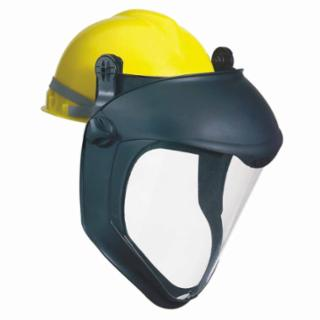 Uvex S8505 Clear Bionic® Face Shield w/ Hard Hat Adapter (1 Face Shield)