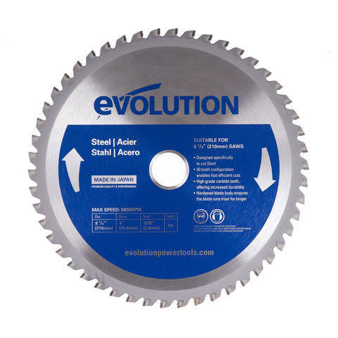"Evolution 8-1/4BLADEST 8 1/4"" Saw Blade"