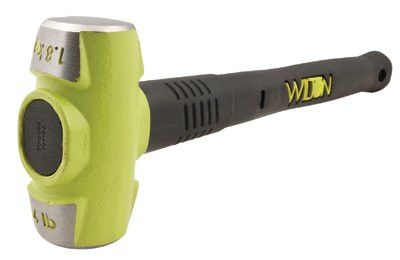Wilton 20416 B.A.S.H Unbreakable Handle Sledge Hammer, 4 lb Head, 16 in Ergonomic Handle 1 EA