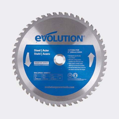 "Evolution 8BLADEMS 8"" Saw Blade"