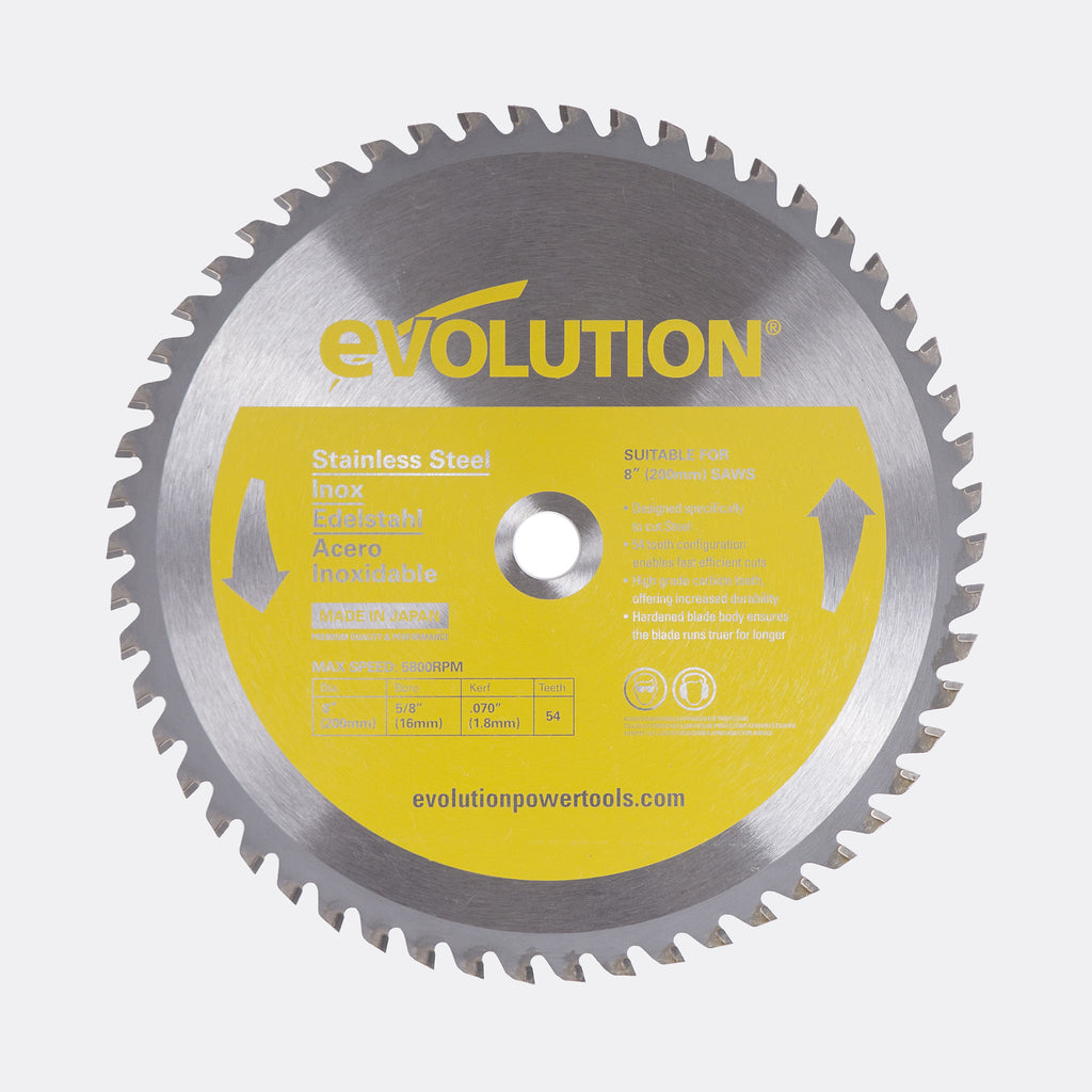 "Evolution 8BLADESS 8"" Saw Blade"