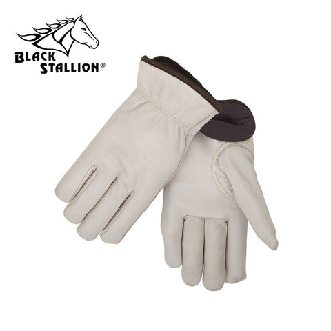 Revco 93W Fleece Insulated Cowhide Winter Driver's Gloves (1 Pair)