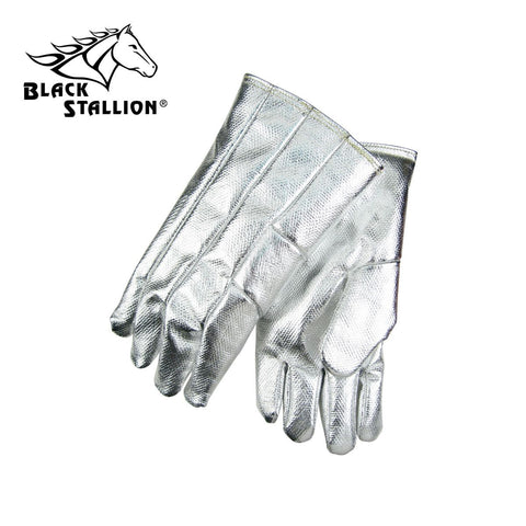 "Revco AHS114 14"", 19 oz. Aluminized Carbon/Kevlar Thermal Protective Gloves (1 Pair)"