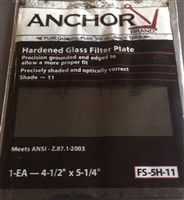 ANCHOR FS-5H-11 Hardened Glass Filter Plate
