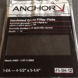 ANCHOR FS-5H-12 Hardened Glass Filter Plate