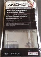 ANCHOR MP-2 Polycarbonate Magnifying Plate 2.00