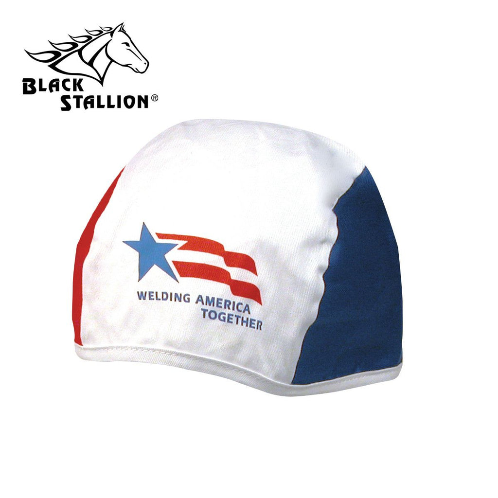 Revco BCT-RWB-WAT WELDING AMERICA TOGETHER COTTON TWILL BEANIE CAP
