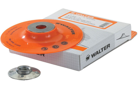 "Walter 15D035 4"" x 3/8""-24 Backing Pad Assembly"