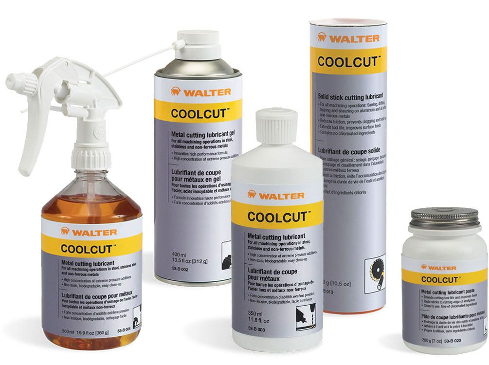 Walter 53B003 COOLCUT SQUEEZE BOTTLE: 350ML 12 Pack