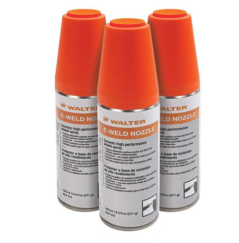 Walter 53F212 E-Weld Nozzle Shield Spray Aerosol: 13.5 oz Can