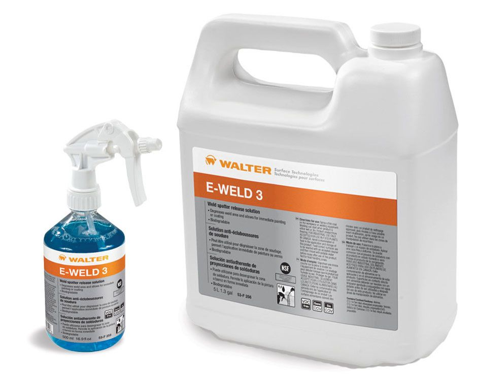 Walter E-Weld 3™ High Temp Anti-Spatter Solution