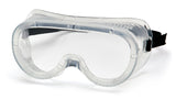Pyramex G201T  Perforated Goggles W/ Clear Anti-Fog Lens (12 each)