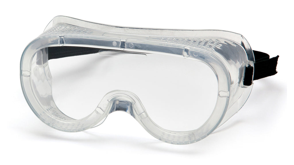 Pyramex G201  Perforated Goggles W/ Clear Lens (12 each)