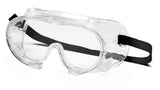 Pyramex G204T  Chem Splash Goggles W/ Clear Anti-Fog Lens (12 each)