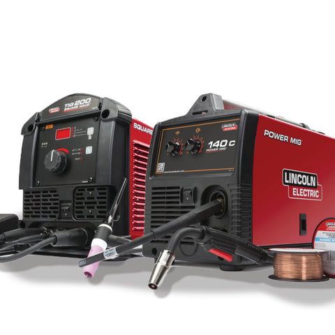 Lincoln Square Wave® TIG 200 & Power MIG® 140C Garage Pak