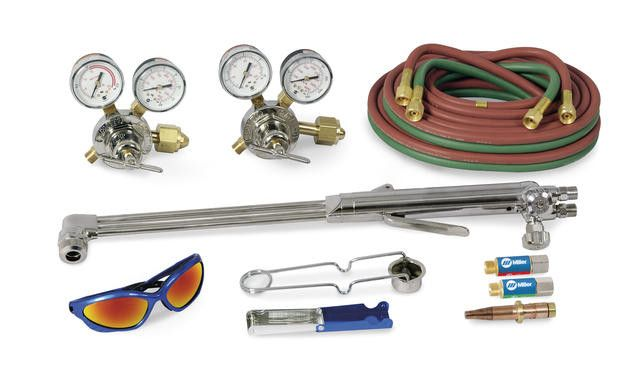 Miller HBAS-30300 Heavy Duty Acetylene Straight Torch Outfit