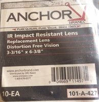 ANCHOR 101-A-427 Replacement Lens (10 Pack)
